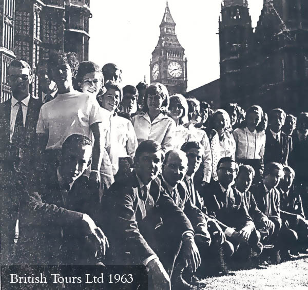 British Tours Ltd 1963