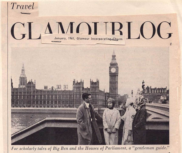 About British Tours 1961