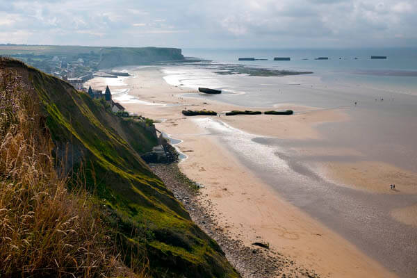 Arromanches, Mulberry Harbour