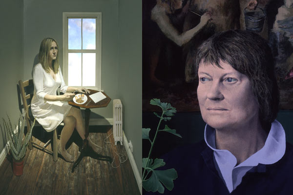 National Portrait Gallery, JK Rowling and Iris Murdoch