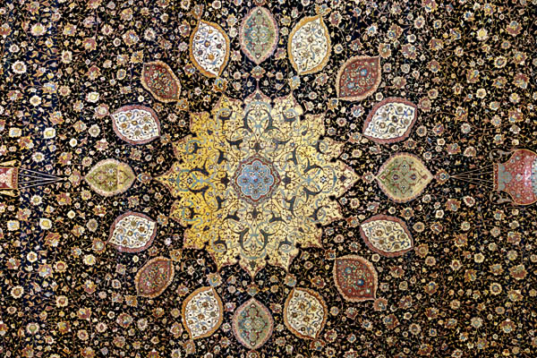 Section of Ardabil Carpet, c. 1539-1540 © Victoria and Albert Museum, London