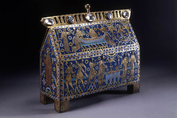 The Becket Casket, c. 1180 © Victoria and Albert Museum, London