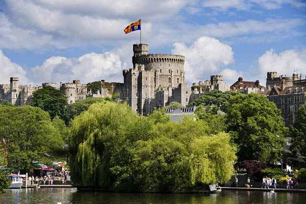 Windsor Castle on the Thames